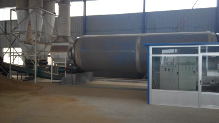 6t sawdust rotary dryer