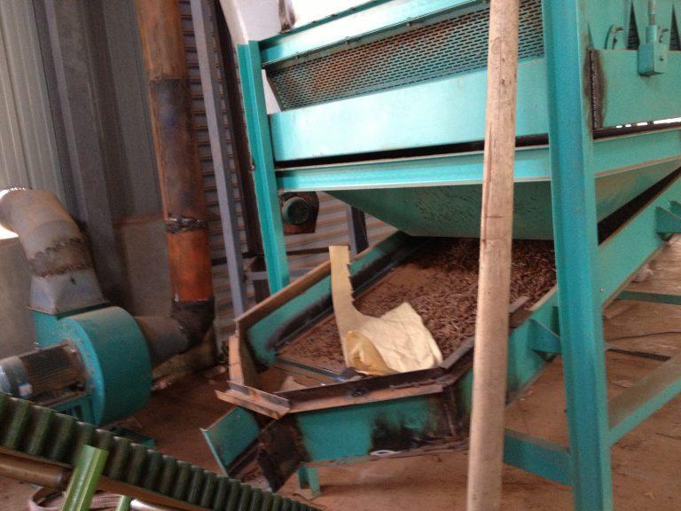 wood pellet cooling machine
