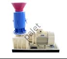electric flat die pellet mill