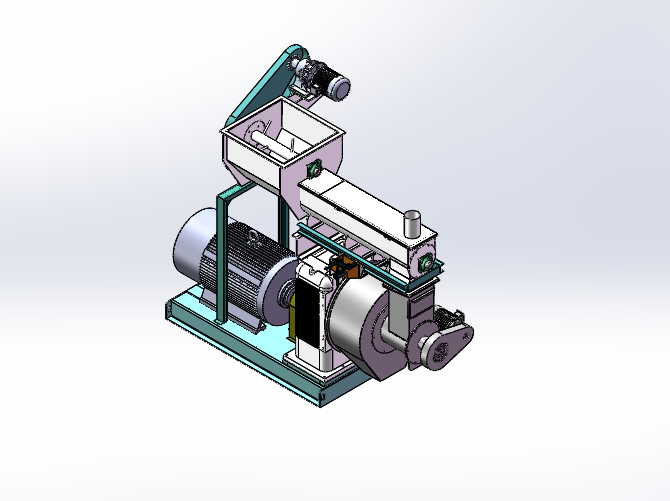 gear box transmission pellet mill