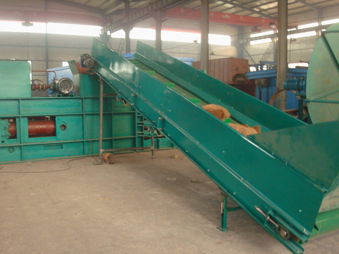 palm fiber baling machine