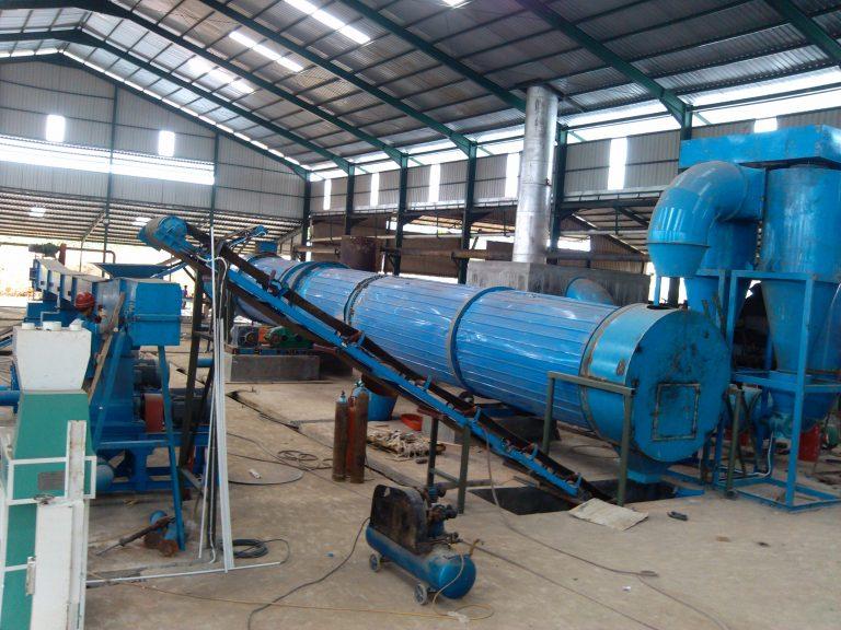 palm fiber dryer