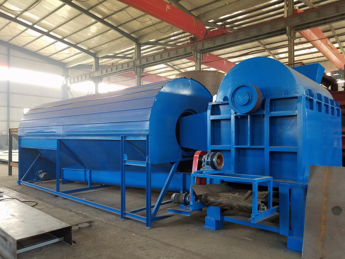 oil palm fiber machine