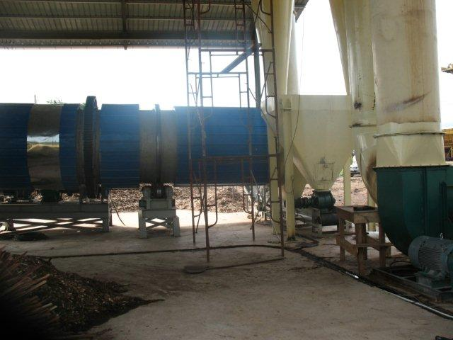 rotary dryer draft fan
