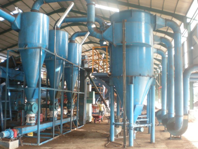 rotary dryer dust collector