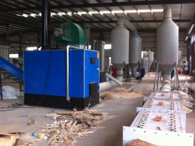 sawdust flash dryer plant