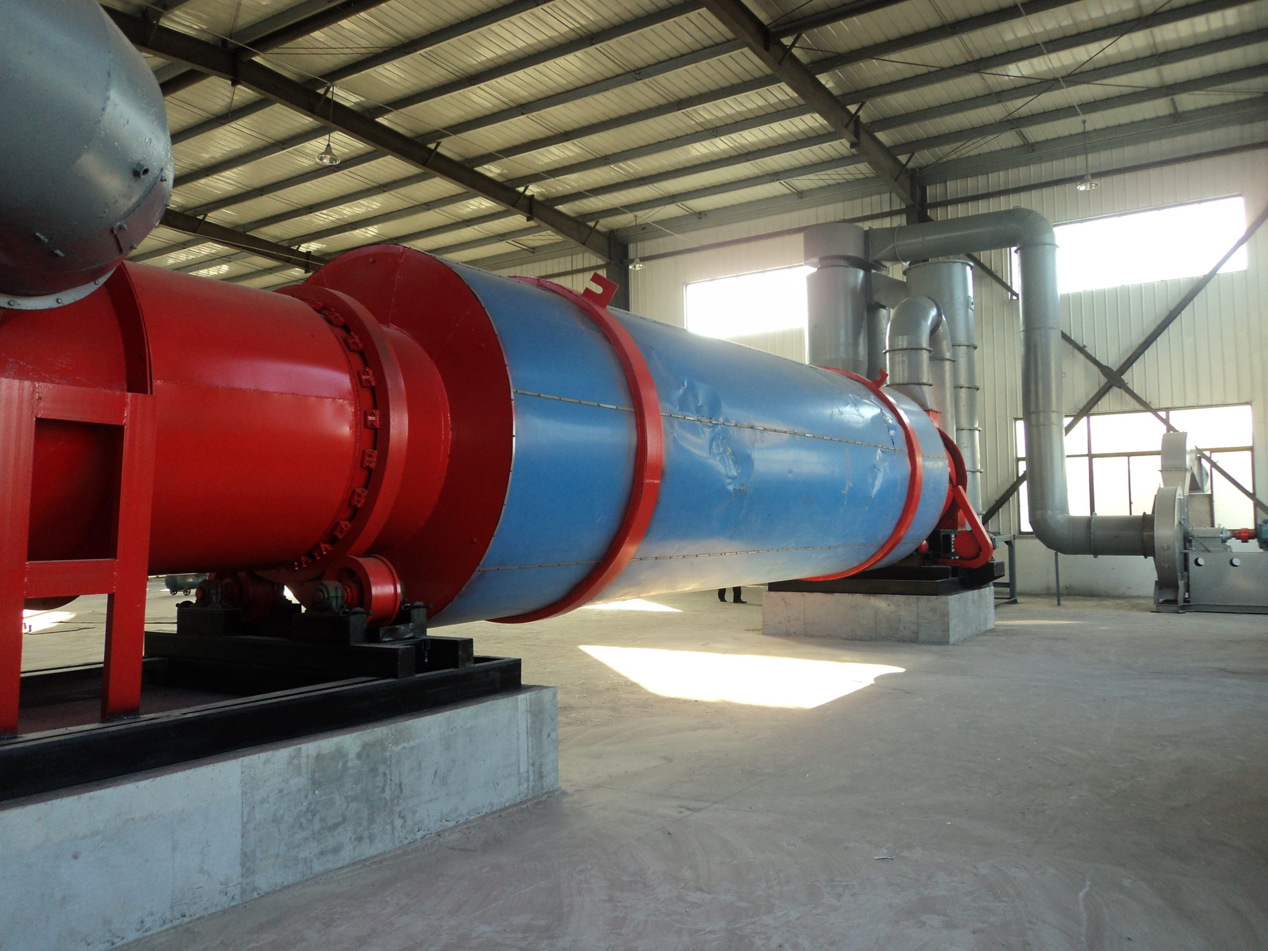 sawsust rotary dryer