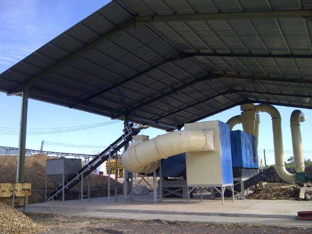 wood chips dryer conveyor