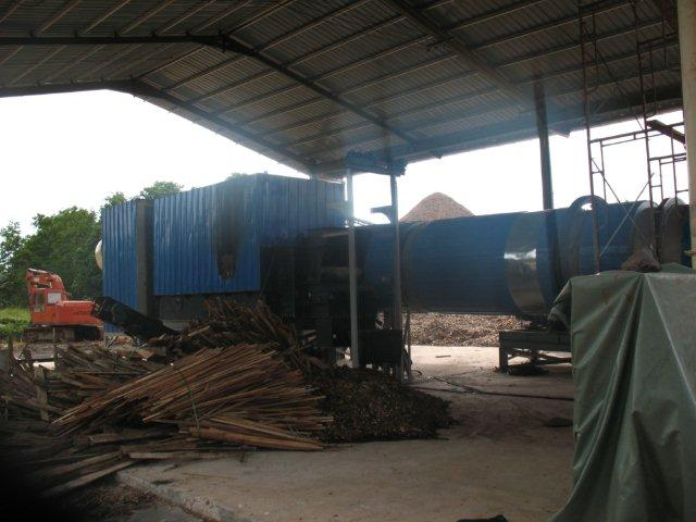 wood chips dryer