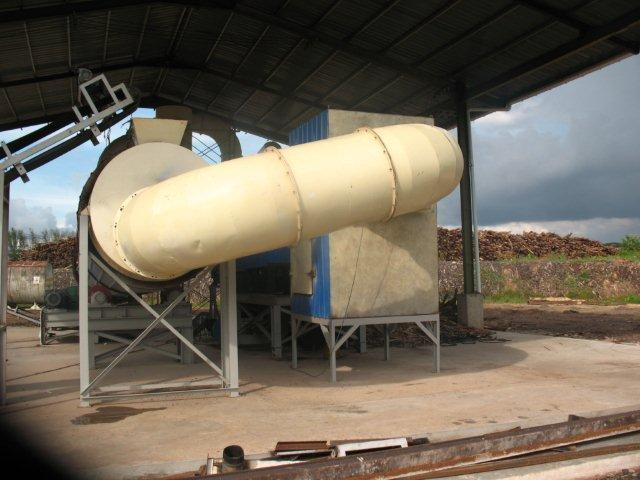 wood chips rotary dryer pipe
