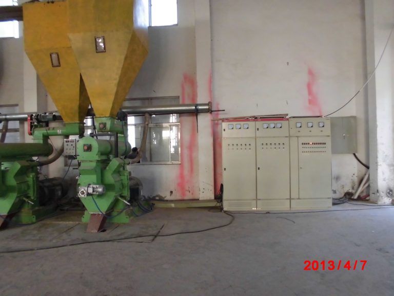 wood pellet plant electric control systerm