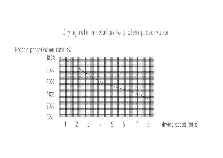 alfalfa drying rate
