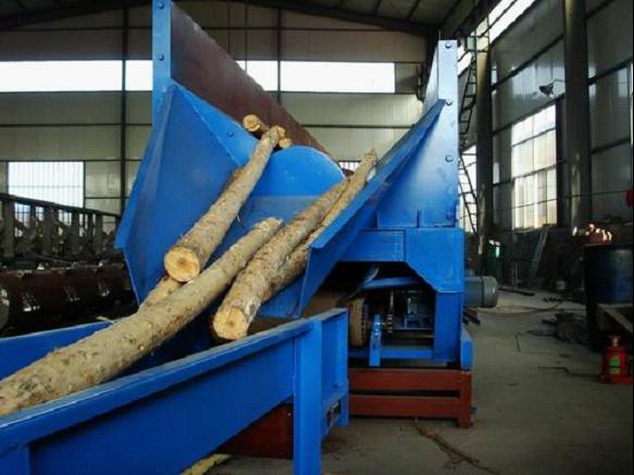 log debarker machine conveyor