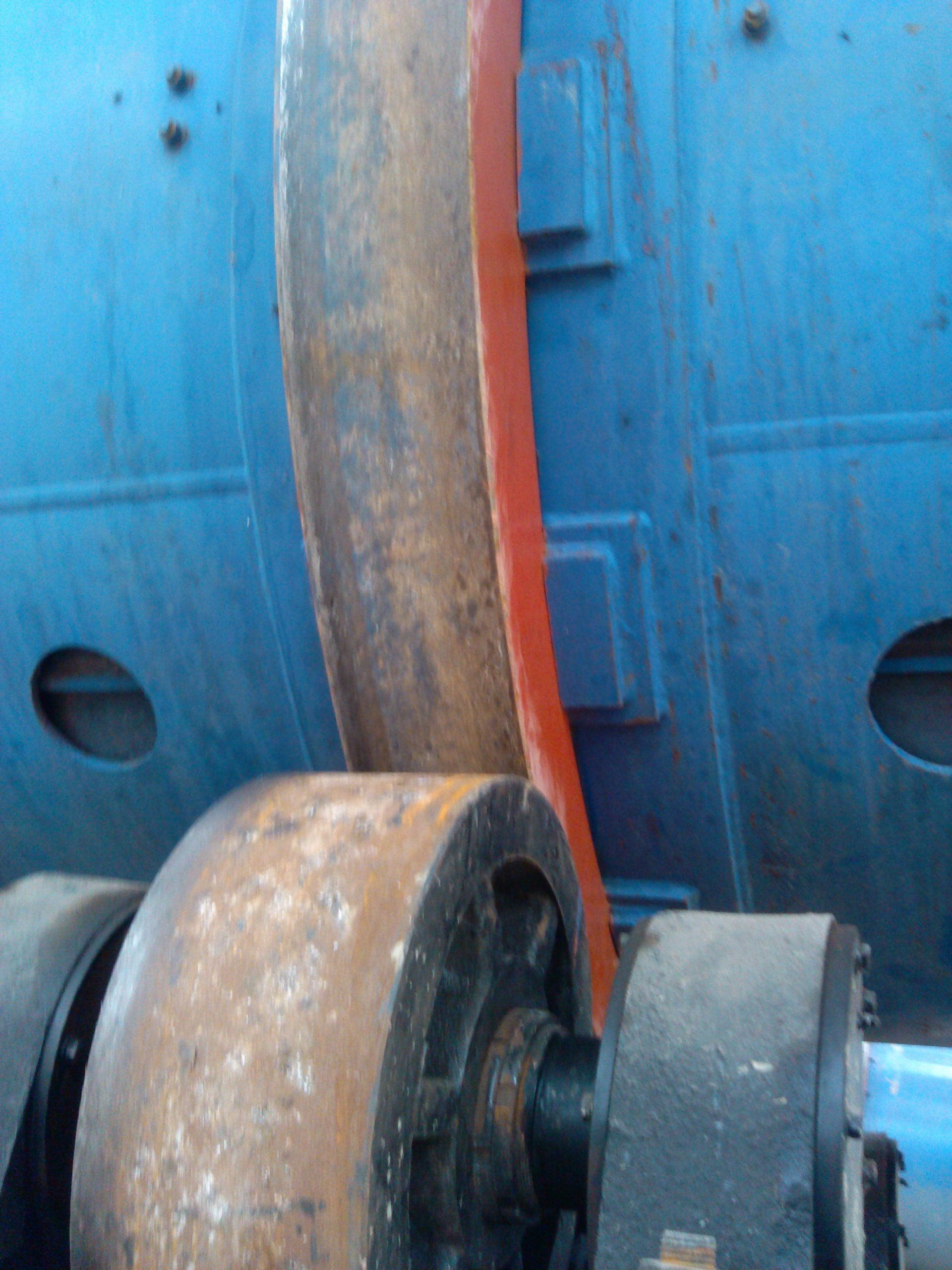 manure dryer rollers