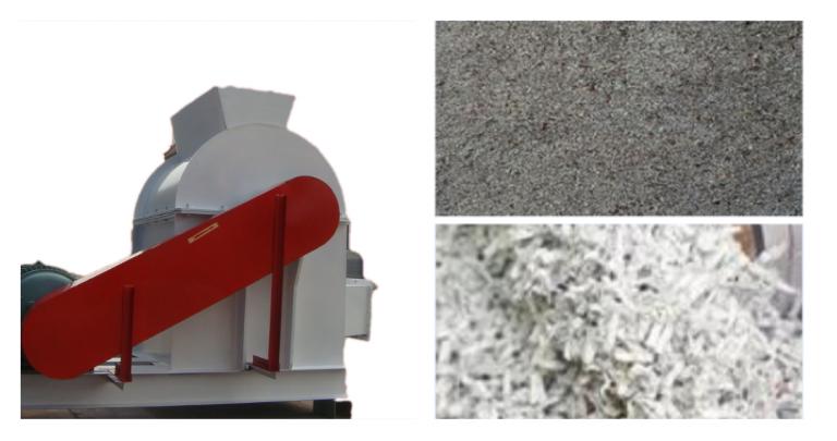 paper crusher machine