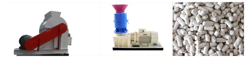 paper pellet machine