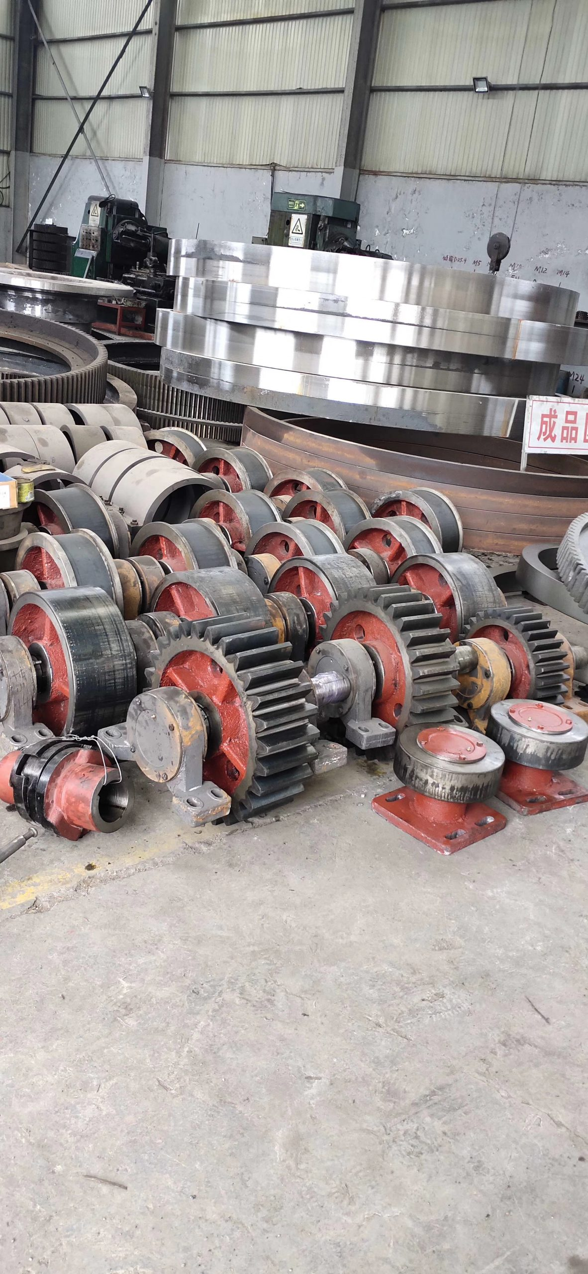 rotary dryer rollers