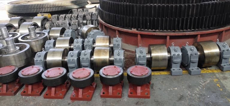 rotary dryer parts