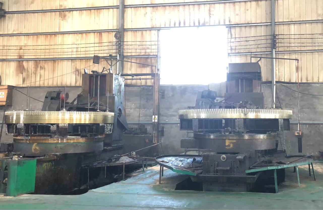 huge gears processing